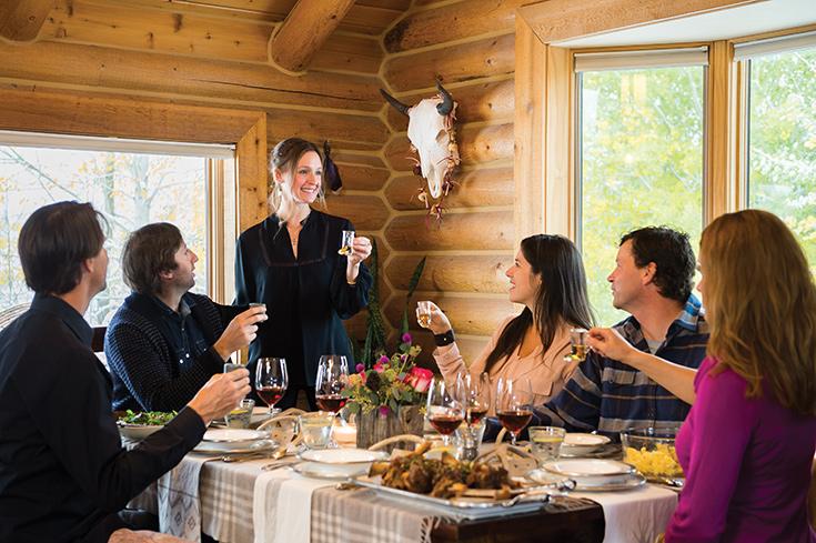 Entertaining With Style | Homestead Magazine, Jackson Hole Wyoming